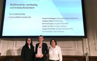 BHAK Wien 10 bei Bioökonomie-Konferenz in Wien