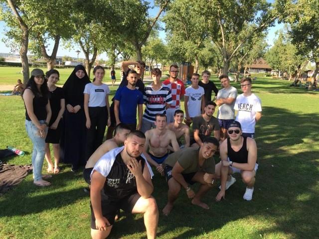 Team-Kennenlerntage des Aufbaulehrgangs