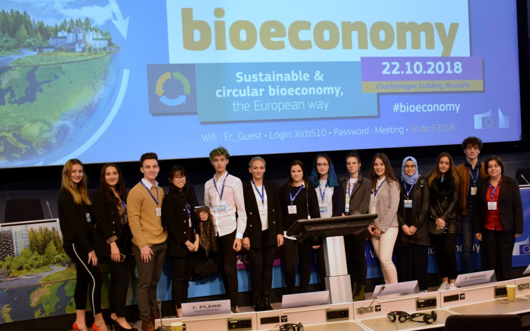 BHAK Wien 10 at the Bioeconomy Strategy Conference (Brussels, Belgium)