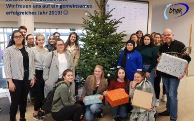 Schöne Weihnachtsferien und einen guten Rutsch in ein erfolgreiches und gesundes Jahr 2019!
