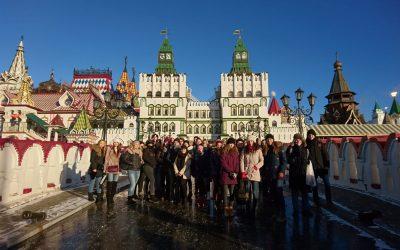 Zu Gast in Moskau