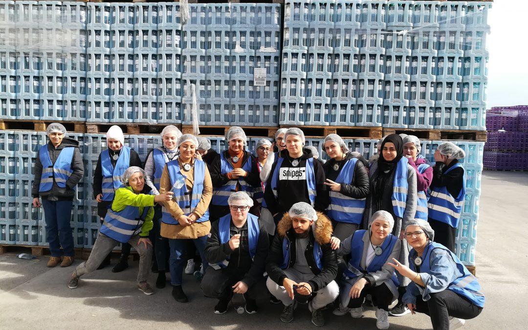 Unternehmensbesichtigung – Vöslauer Mineralswasser GmbH
