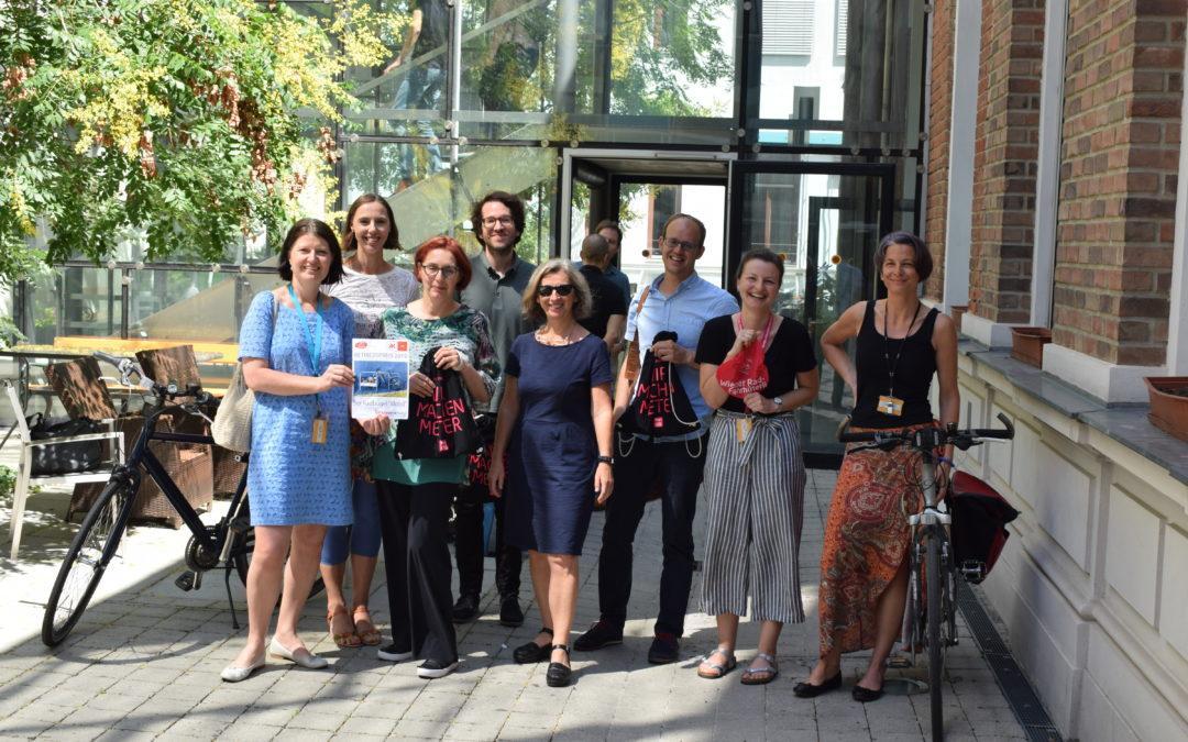 Nachhaltige Mobilität an der BHAK Wien 10