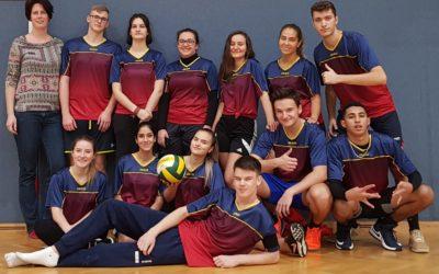 GRUPPENSIEG in der Wiener Schülerliga Volleyball Mixed Oberstufe