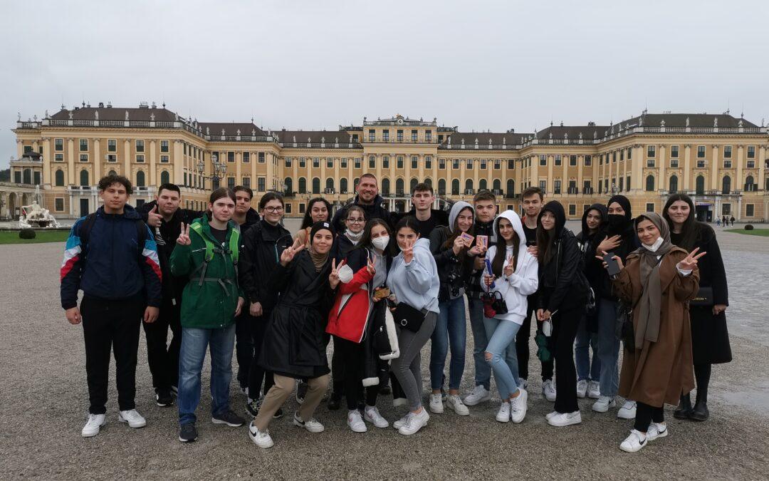 Besuch im Technischen Museum und Geocaching im Schlosspark Schönbrunn